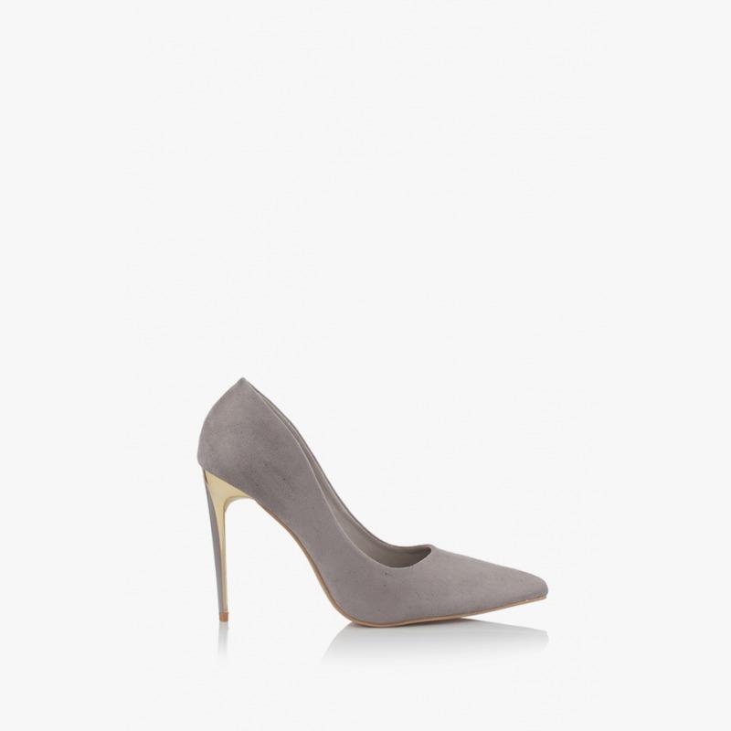 c33a33ed051 Елегантни дамски обувки в сиво Наоми | Дамски обувки | GIDO