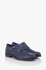 Мъжки класически обувки в синьо Патерсън