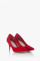Дамски елегантни обувки в червено Наоми