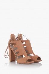 Дамски сандали на висок ток Кики