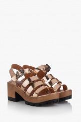 Дамски сандали на платформа Ирене