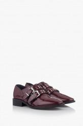 Дамски обувки в бордо Хейдън