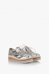 Дамски обувки на платформа Санта