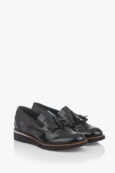 Дамски обувки с аксесоар Джилия в черно