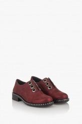 Дамски обувки в бордо Карин