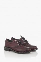 Дамски обувки в бордо Сиа