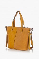 Дамска чанта в жълт цвят Анис