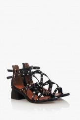 Летни дамски сандали с аксесоари Рока