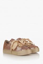 Спортни дамски обувки със сатенени връзки Дейзи