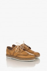 Дамски летни обувки Анабел в бежово