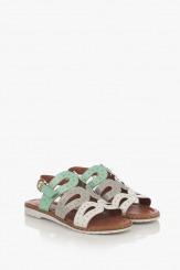 Цветни дамски сандали Каролин