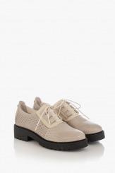 Дамски кожени обувки с връзки Дороти