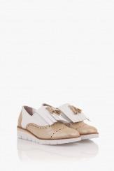 Дамски ежедневени обувки с аксесоар Агнеса