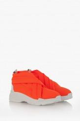 Дамски спортни обувки Черил в оранжево