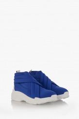 Тъмно сини дамски спортни обувки Черил