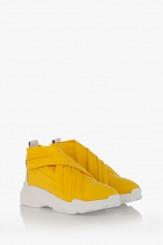 Дамски спортни обувки в жълто Черил