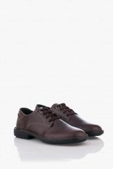 Кожени мъжки обувки в кафяво Матео