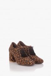 Дамски обувки с леопардов принт Рената