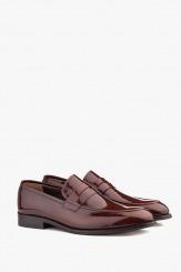 Мъжки класически обувки от лак Логан