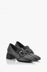 Черни класически дамски обувки Елла
