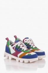 Дамски цветни спортни обувки Джанин