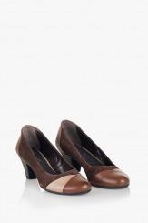 Дамски обувки Кинли в кафяво