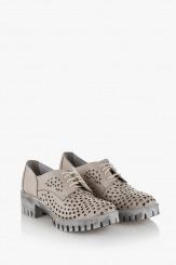 Дамски перфорирани обувки Джилиан