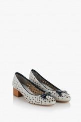 Дамски обувки Ариана кожа айс