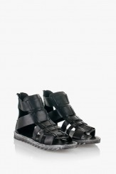 Черни дамски сандали Римини