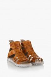 Дамски сандали Римини карамел