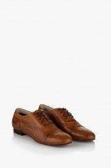 Дамски обувки Джулиана кожа карамел