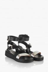 Черни сандали Катерини