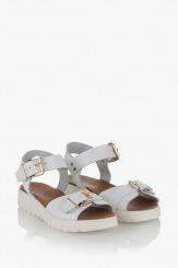 Дамски бели сандали Катерини