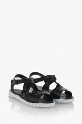 Дамски сандали Алана в черно