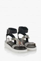 Черни сандали Катерини 2
