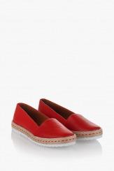 Червени дамски обувки Лорийн