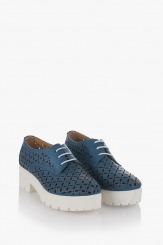 Сини дамски обувки Тенеси