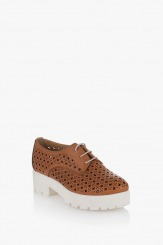 Дамски обувки Тенеси карамел