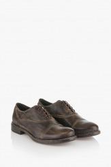 Мъжки кожени обувки с връзки Бенет