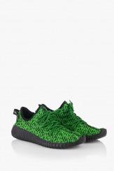 Дамски спортни обувки в зелено Нори
