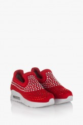 Дамски спортни червени обувки Белла