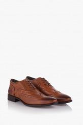 Официални мъжки обувки в цвят карамел Брус