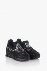 Черни дамски спортни обувки Белла