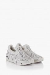 Дамски спортни обувки в бяло Белла