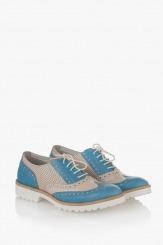 Дамски обувки в синьо Летисиа