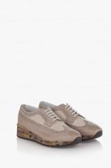 Дамски спортни обувки в сиво Деб