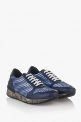 Мъжки спортни обувки в синьо Джей