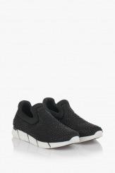 Черни дамски спортни обувки Бел