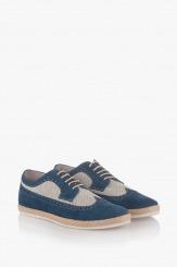 Мъжки летни обувки от велур Джеймс