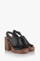 Дамски сандали в черно Фрей